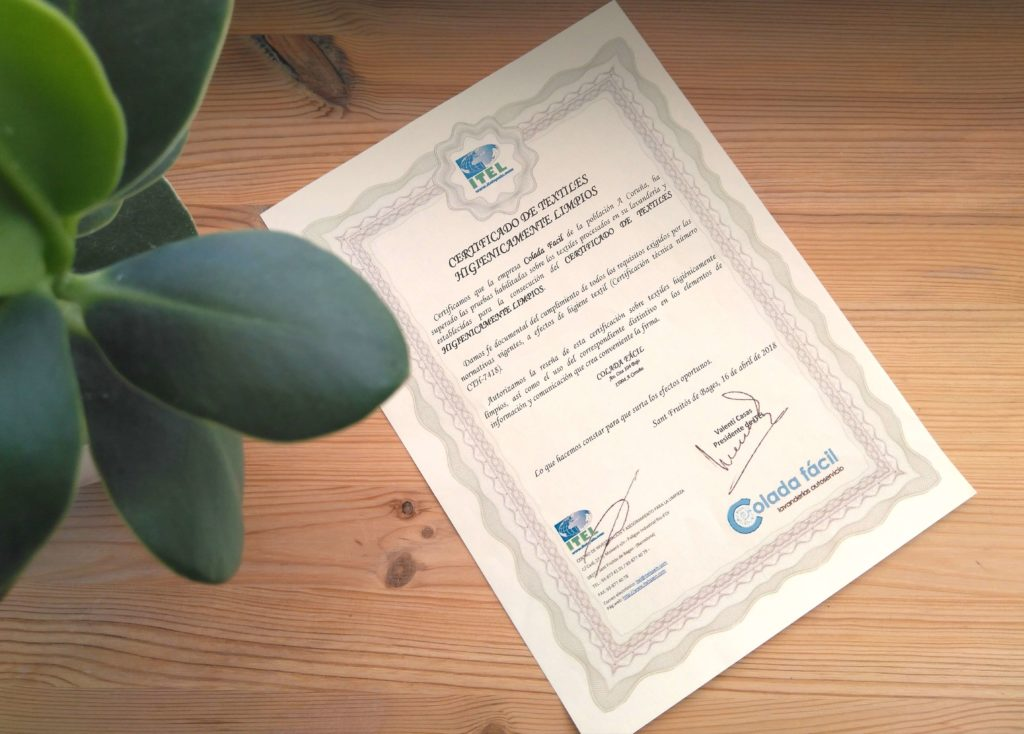 Certificado-textiles-higienicamente-limpios-colada-facil